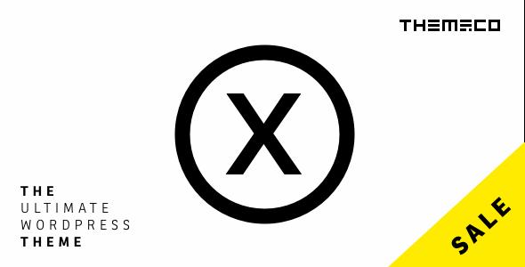 X v5.1.0 — Premium WordPress Theme