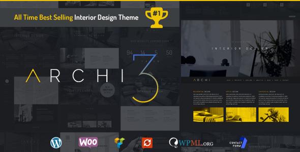 Archi v3.4.1 — Interior Design WordPress Theme