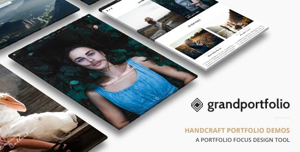 Grand Portfolio v3.4 — Responsive Portfolio Theme