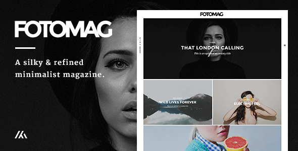 Fotomag v1.4.6 — A Silky Minimalist Blogging Magazine