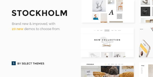 Stockholm v3.8.1 — A Genuinely Multi-Concept Theme