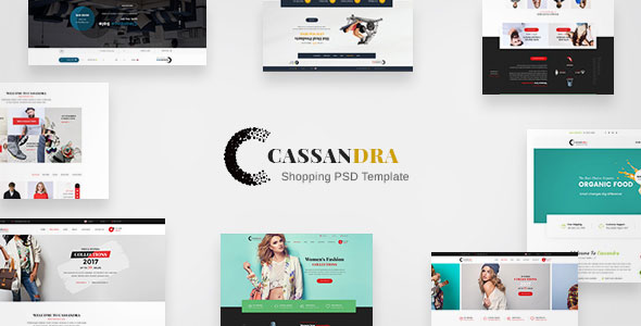 Cassandra Shopping — Multipurpose e-commerce PSD Template