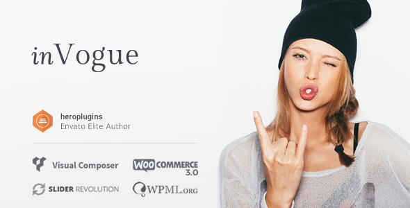 inVogue v1.20.24 — WordPress Fashion Shopping Theme