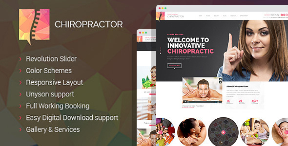 Chiropractor v1.0.12 — Therapy and Rehabilitation WordPess Theme