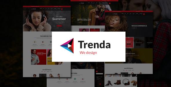 Trenda — Multi Concept eCommerce PSD Template
