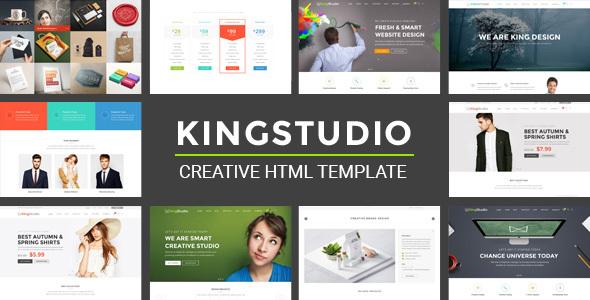 Kingstudio — MultiPurpose HTML Template