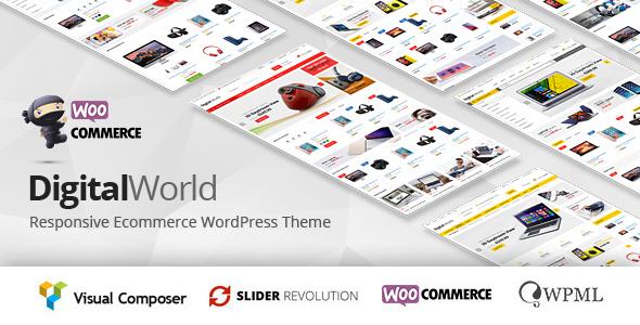 Digitalworld v1.0.7 — Multipurpose WordPress Theme
