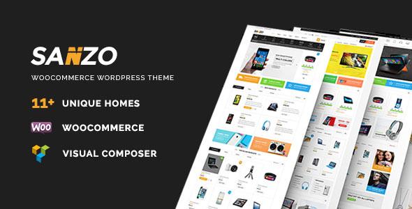 Sanzo v1.0.7 — Responsive WooCommerce WordPress Theme