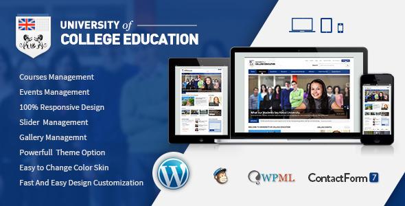 University v1.5 — Education Responsive WordPress Theme