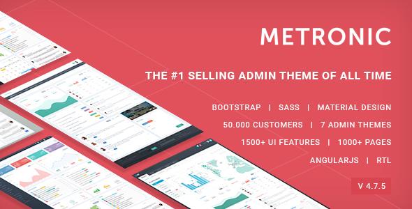 Metronic v4.7.5 — Responsive Admin Dashboard Template