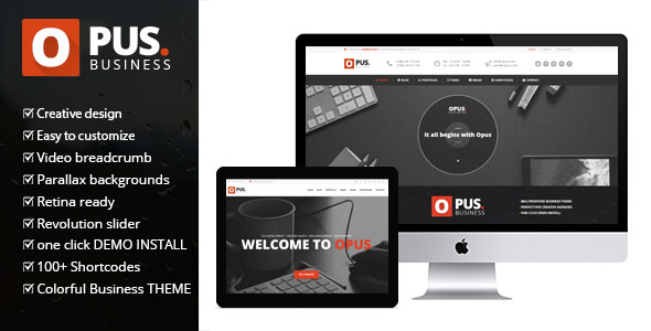 Opus v1.6 — Multipurpose WooCommerce WordPress Theme