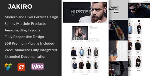 Jakiro v1.1.18 — Fashion Shop WordPress Theme