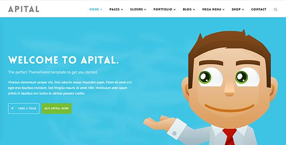 Apital v1.1 — Corporate Business WordPress Theme