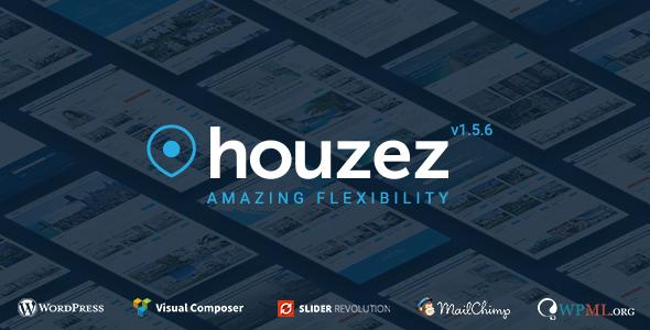 Houzez v1.5.6 — Real Estate WordPress Theme