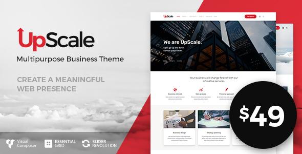 UpScale v1.0.2 — Multi-Purpose Business Theme