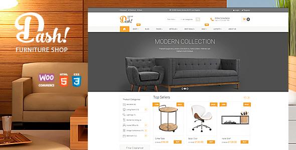Dash v2.0 — Handmade Furniture Marketplace Theme