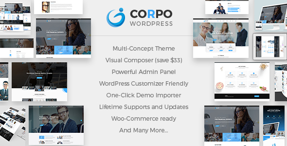 Corpo v1.2.0 — Modern Business and Corporate Theme
