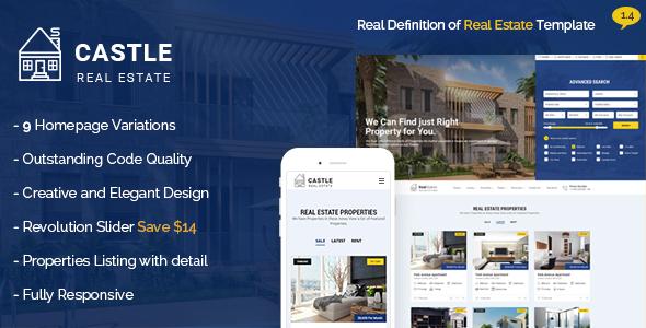 Castle v1.4 — Real Estate HTML Template