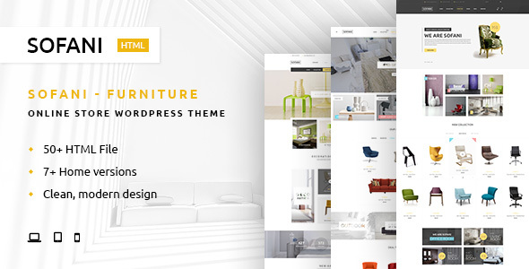 Sofani — Furniture Store HTML Template