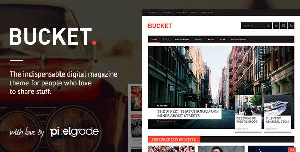 BUCKET v1.6.9 — A Digital Magazine Style WordPress Theme