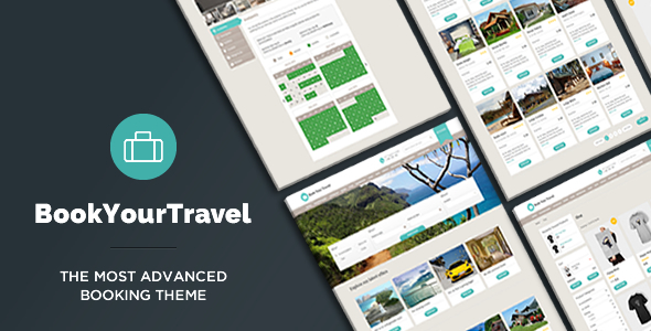 Book Your Travel v7.21 — Online Booking WordPress Theme