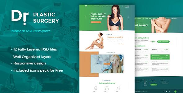 Dr. Plastic Surgery — PSD Template