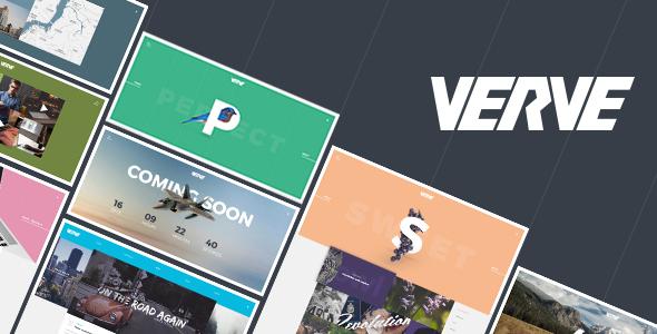 Verve — Agency & Portfolio PSD Template