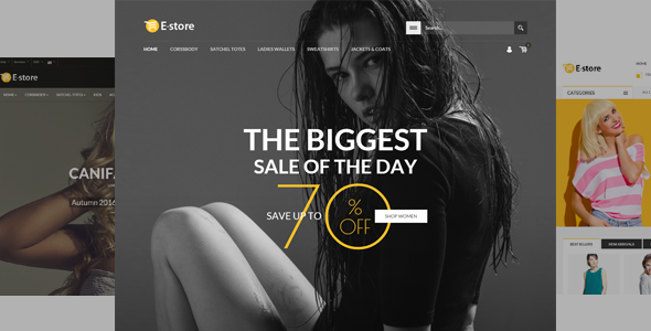 E-Store — Responsive HTML Template