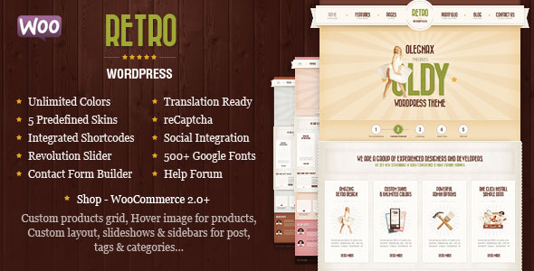 Retro v4.1.0 — Premium Vintage WordPress Theme
