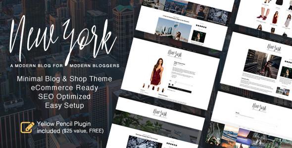 New York v1.4.0 — WordPress Blog & Shop Theme