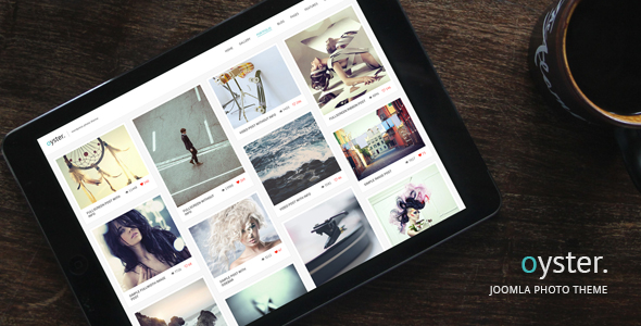Oyster v2.0 — Creative Photography Joomla Template