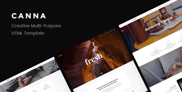 Canna — Creative Multi-Purpose HTML Template