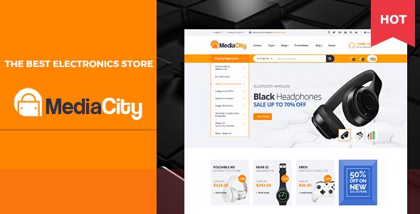MediaCity — Technology Responsive Opencart Theme