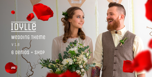 Idylle Wedding — Premium Wedding Theme