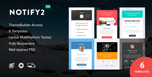Notify2 — Notification Email + Themebuilder Access