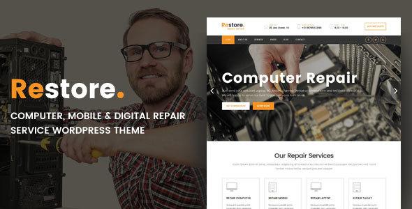 Restore v1.0 — Computer, Mobile & Digital Repair Service