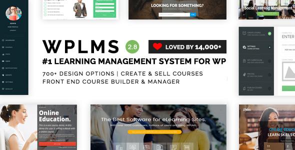 WPLMS v2.8.1 — Learning Management System for WordPress