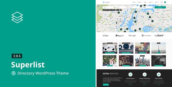 Superlist v2.8.5 — Directory WordPress Theme