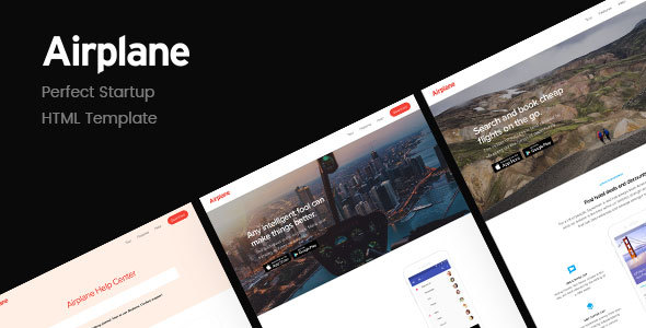 Airplane v1.1 — Startup HTML Template