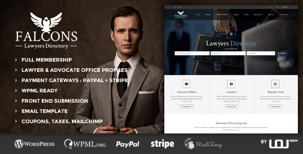 Falcons v1.1.4 — Directory for Lawyers & Law Firms