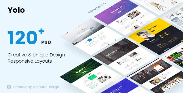 Yolo — Responsive Multi-Purpose PSD Template