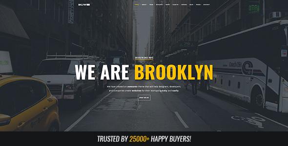 Brooklyn v4.4.5 — Responsive Multi-Purpose WordPress Theme