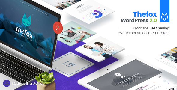 TheFox v2.071 — Responsive Multi-Purpose WordPress Theme