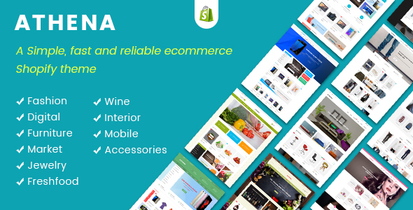 JMS Athena — Ultimate Multipurpose Responsive Shopify Theme