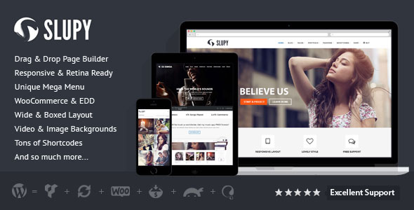 Slupy v1.1.7 — Responsive Multi-Purpose WordPress Theme