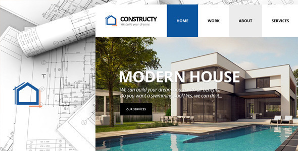 Constructy v1.2 — Construction Business Building HTML Theme