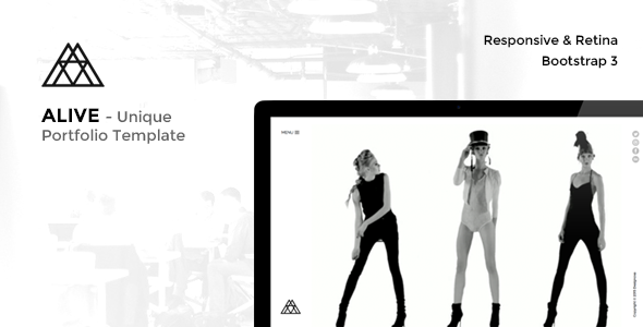 ALIVE — Portfolio for Creatives & Agency
