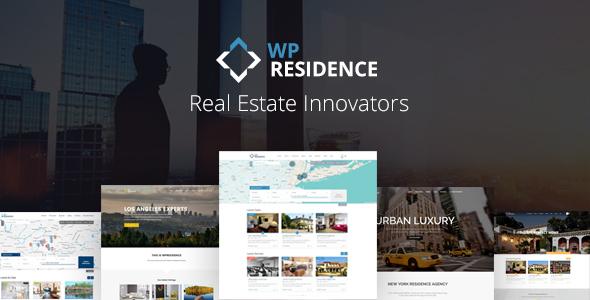 WP Residence v1.20.6 — Real Estate WordPress Theme