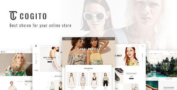 Cogito — PSD Ecommerce Template