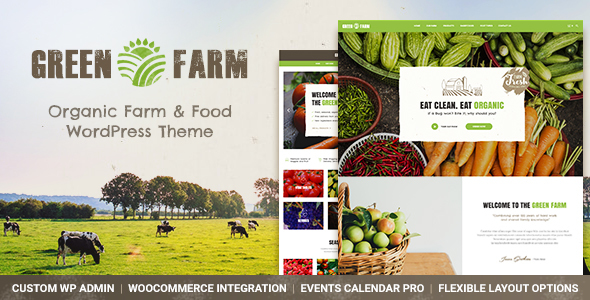 Green Farm — Organic Food Farm & Eco Food Store